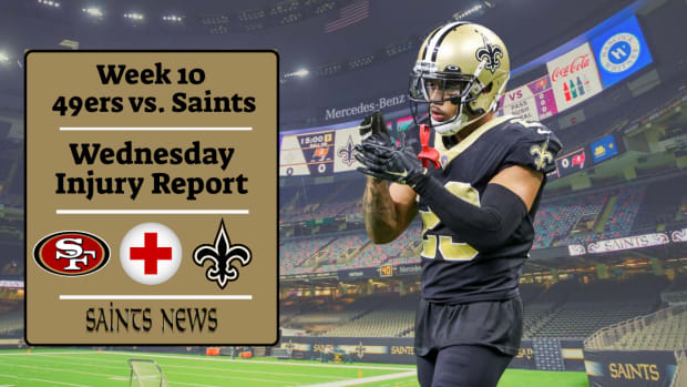 Saints Injury Report (25)