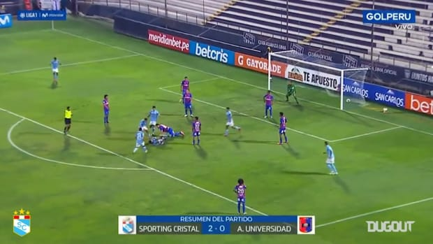 Omar Merlo's great goal vs Alianza UDH