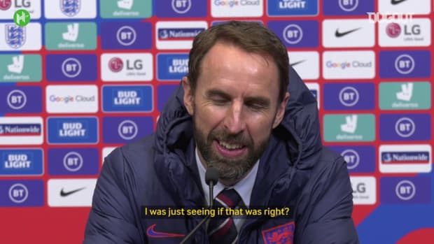 Southgate clarifies whether he had to check Bellingham's homework