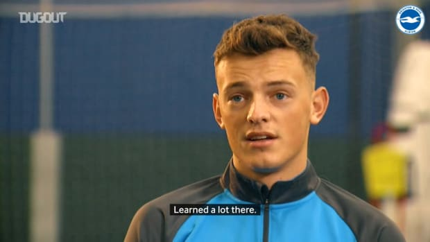 Ben White discusses his journey to the Brighton first-team