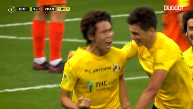 Kento Hashimoto's best Russian Premier League moments