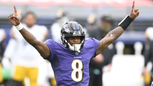 Ravens Lamar Jackson Fantasy Football