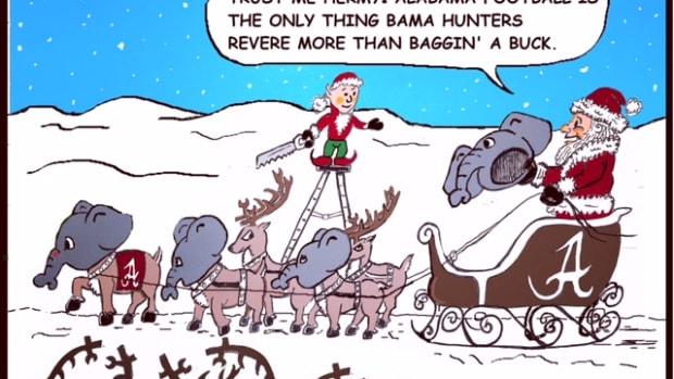Crimson Ties: Merry Deer Season