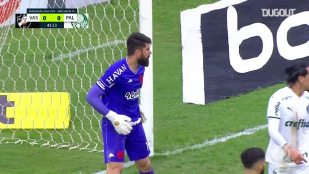 Highlights: Vasco 0 x 1 Palmeiras