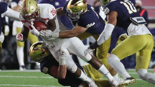 Notre Dame Defense 1