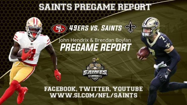 Saints Pregame Report Week 10
