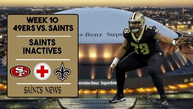 Saints Injury Report