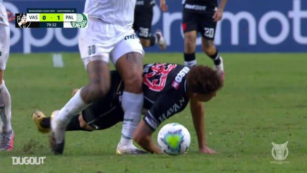 Felipe Melo's injury against Vasco