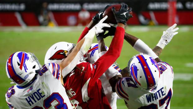 Cardinals' DeAndre Hopkins catches Hail Mary pass