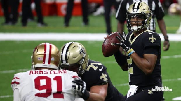 Saints QB Jameis Winston vs. 49ers