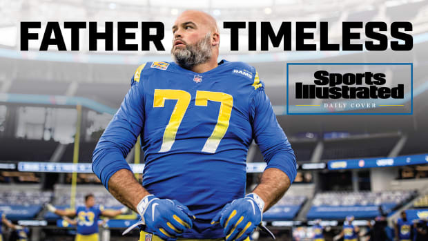 Rams OT Andrew Whitworth on Sports Illustrated Daily Cover