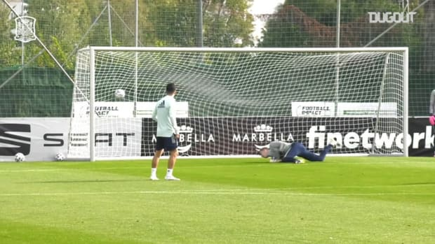 Great goals from Spain U21's training camp