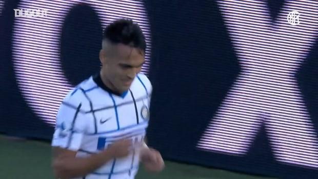 Lautaro's header against Atalanta