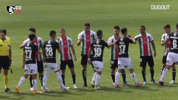Colo-Colo's defeat away at Palestino