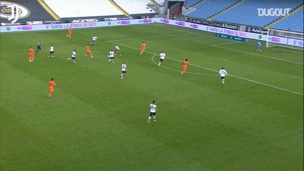 McKennie's first Juventus assist