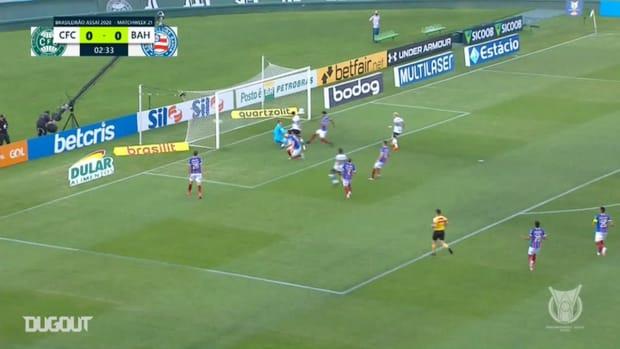 Highlights Brasileirão Série A: Coritiba 1-2 Bahia