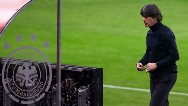 Germany manager Joachim Low is on the hot seat