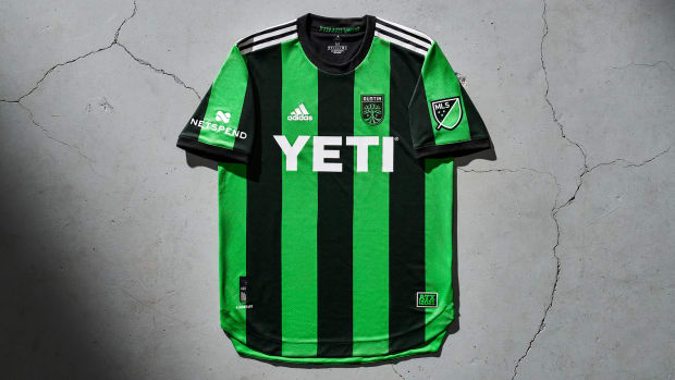 Austin FC's first MLS jersey