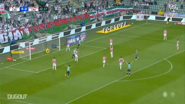 Legia Warsaw defeat Cracovia to clinch 14th Ekstraklasa title