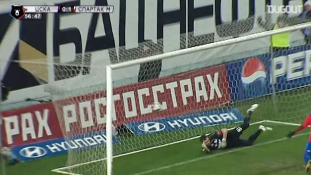 Honda's diving header against Spartak Moscow