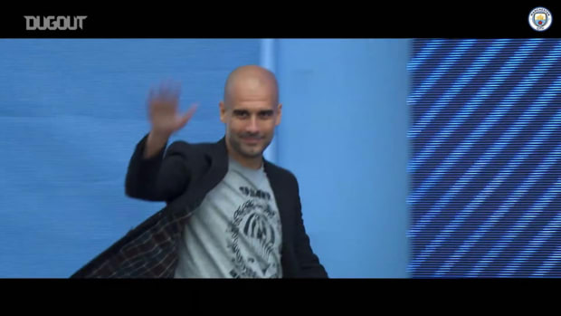 Pep Guardiola's incredible journey as Manchester City manager
