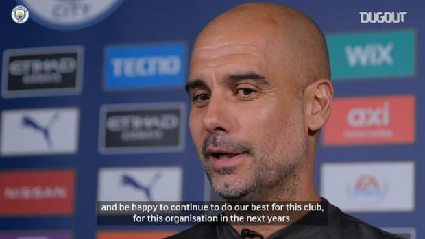 Pep Guardiola: We have unfinished business