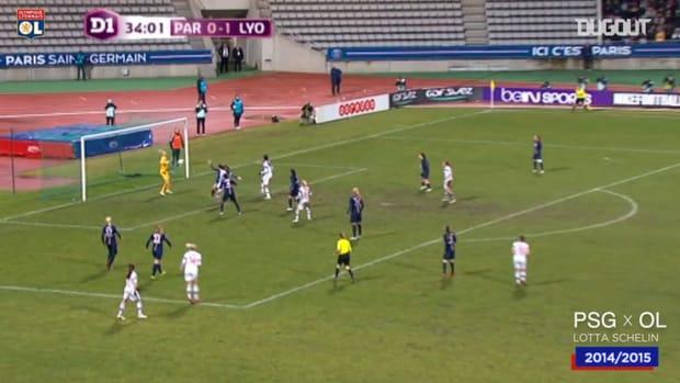 OL Women's top five goals vs PSG