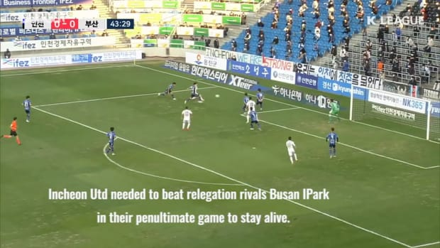 Incheon United's heroic escape from relegation in 2020