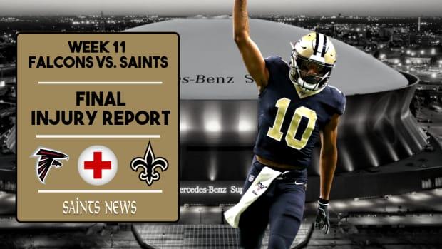Saints Injury Report (30)