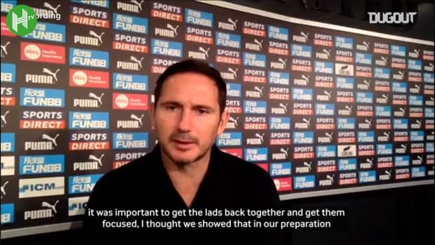 Lampard very happy with Werner and Newcastle win