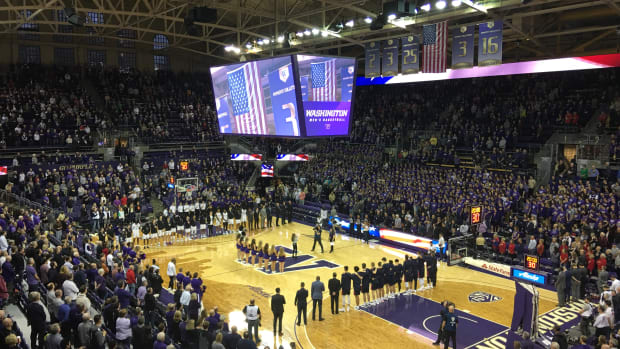 The Husky basketball opener has been pushed back because of the pandemic.