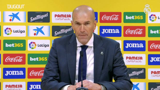 Zidane: 'We deserved much more'