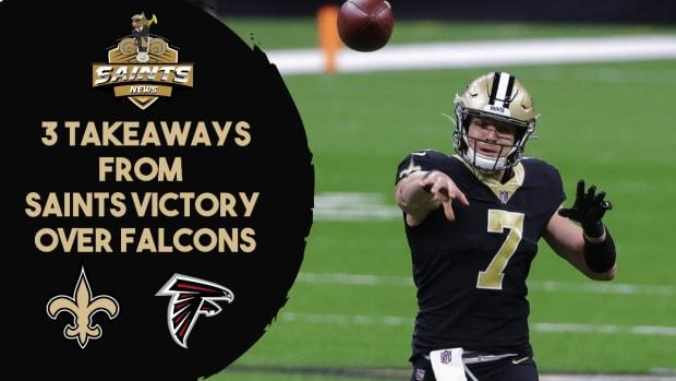 3 Takeaways vs. Falcons
