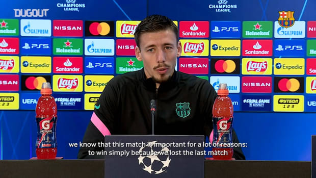 """Clement Lenglet: """"We want to get the best result"""""""
