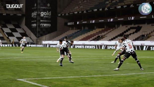 Marcus Edwards' stunning goal vs Boavista FC