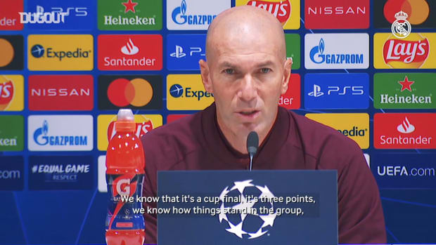Zidane: 'We always go out to win'