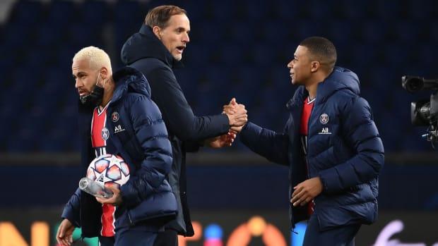 PSG edges RB Leipzig in Champions League