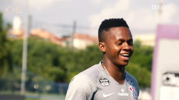 Corinthians's last training session before Coritiba clash