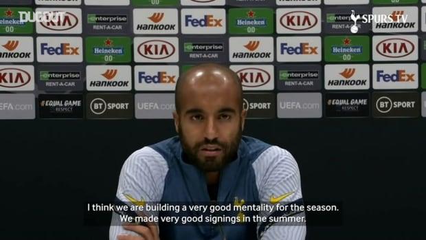 Lucas Moura: José can lead Spurs to Premier League title