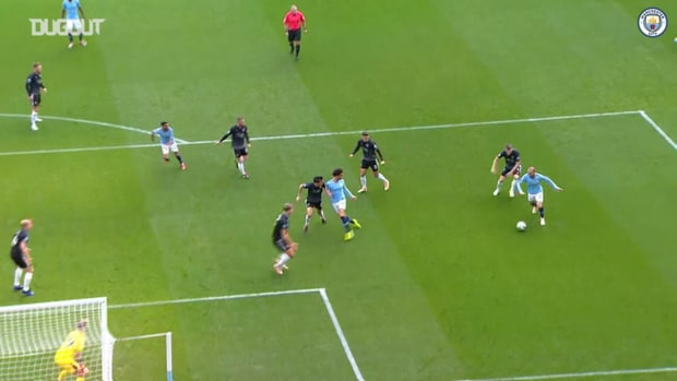Manchester City's three successive 5-0 home wins over Burnley