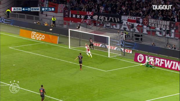 Ajax's classic strikes against Emmen