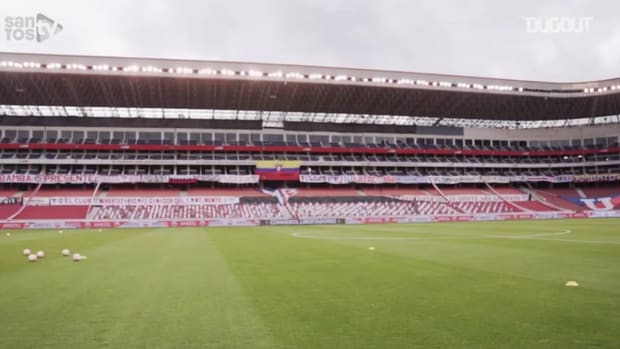 Behind the scenes of Santos' away victory over LDU