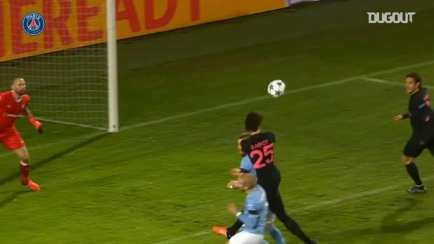 Paris Saint-Germain's win 5-0 vs Malmö in 2015