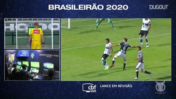 Highlights: Coritiba 0-1 Corinthians
