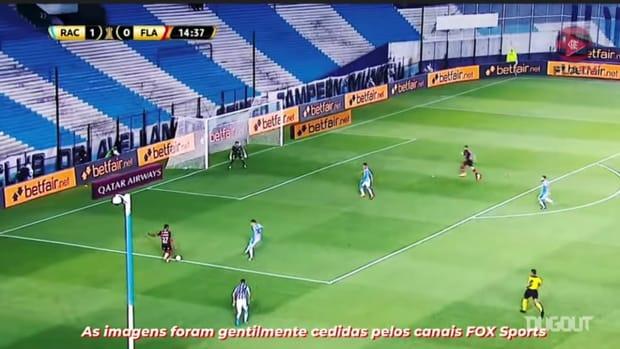 Flamengo draw against Racing at El Cilindro