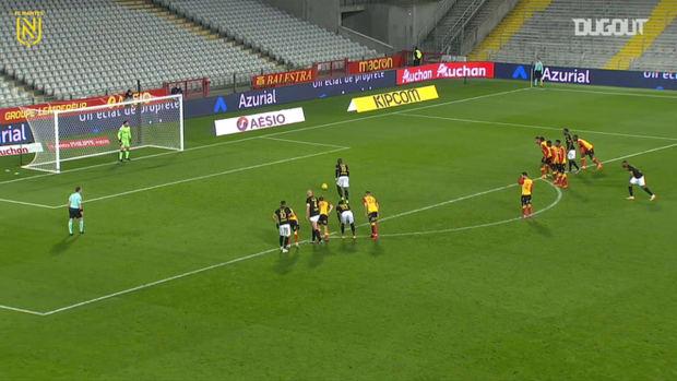 Abdoulaye Touré's penalty vs Lens