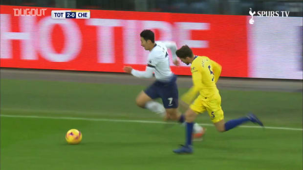 Heung-Min Son's incredible solo goal vs Chelsea