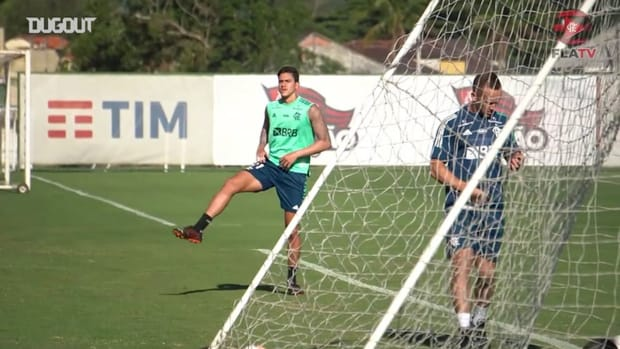Flamengo's training session to important game against Racing