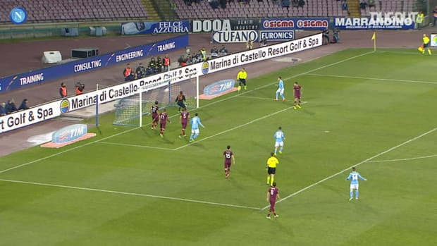 Napoli's best home goals against Roma