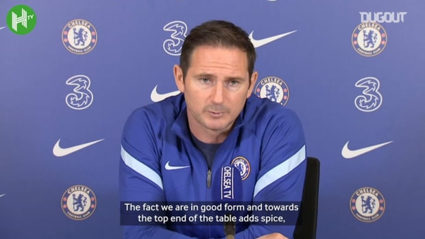Lampard: Chelsea vs Spurs is extra special